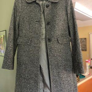 Ann Taylor Loft Wool Pea Coat
